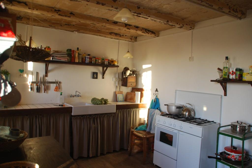 Husets køkken